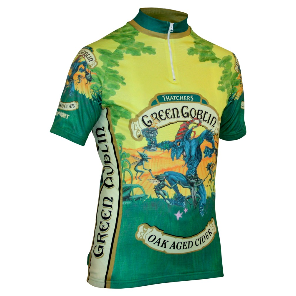 Impsport Green Goblin Cycling Jersey