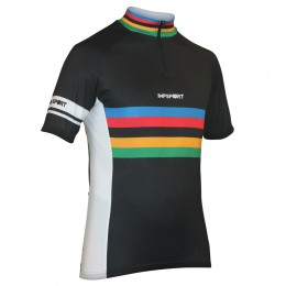 Impsport Masters Cycling Jersey Black