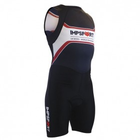 Impsport Patriot Pro Tri Suit Front With Mesh Pockets