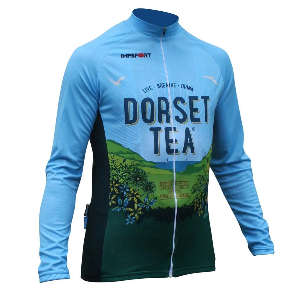 Impsport Dorset Tea Long Sleeved Cycling Jersey