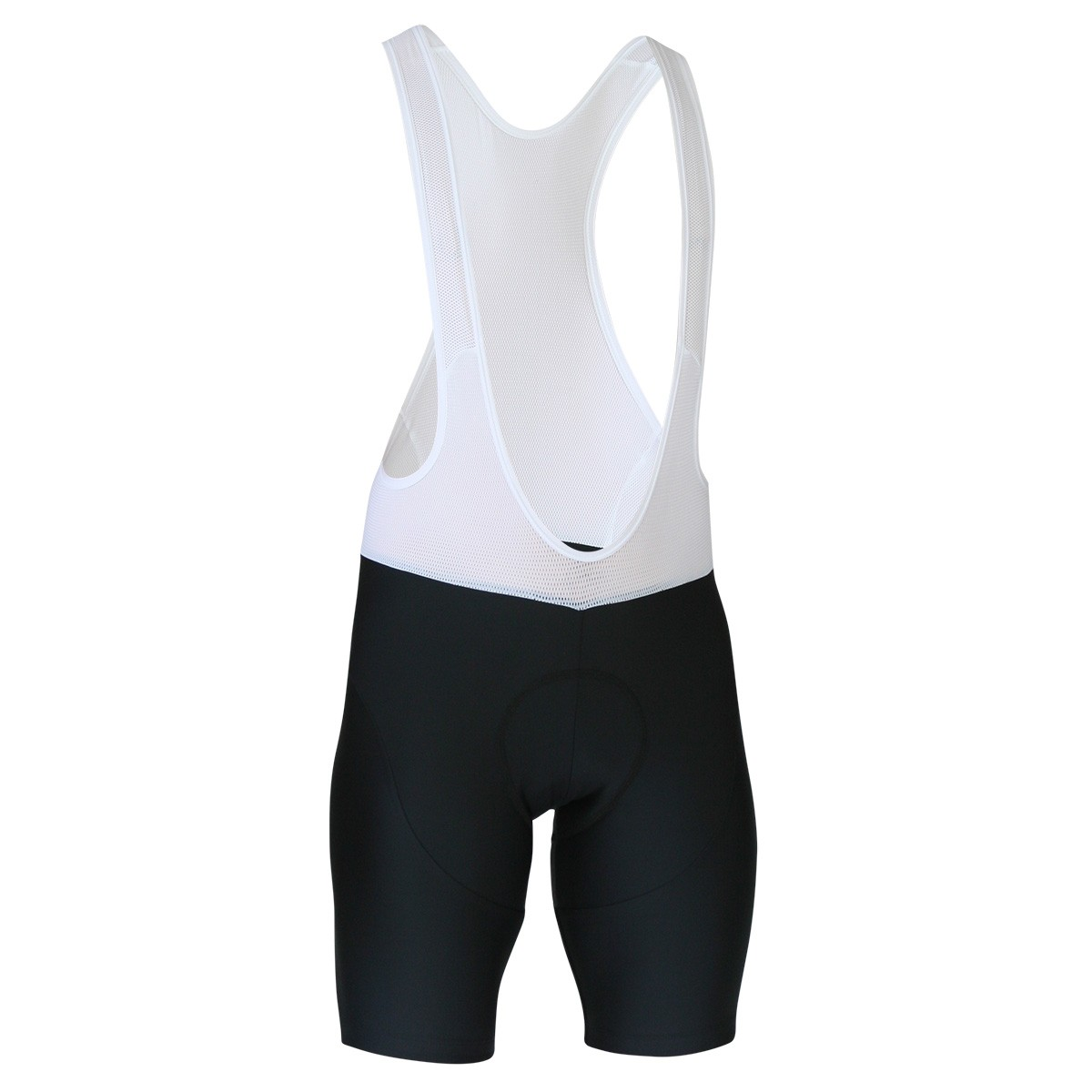Impsport Black Sportive Bibshorts