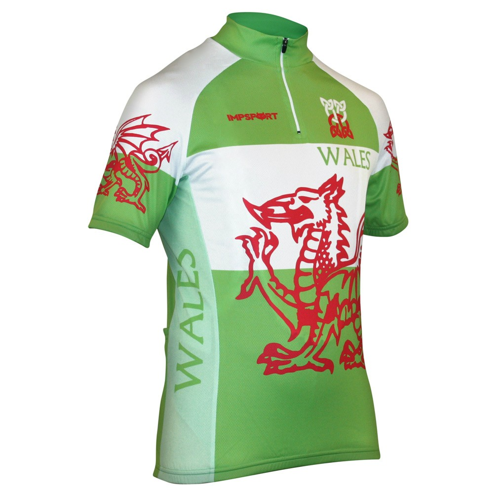 Impsport Wales National Classic Cycling Jersey