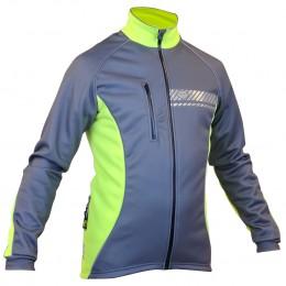 Impsport Polar Winter Cycling Jacket (Grey/ Flo Yellow)