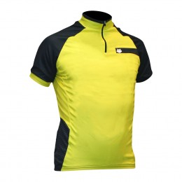 Impsport Hyperion Flo Yellow Cycling Jersey