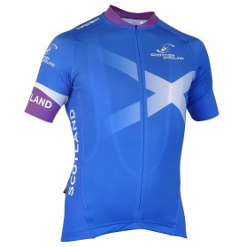 Scottish Cycling Replica Short Sleeved Pro Jersey